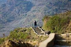 Vietnam mountain path